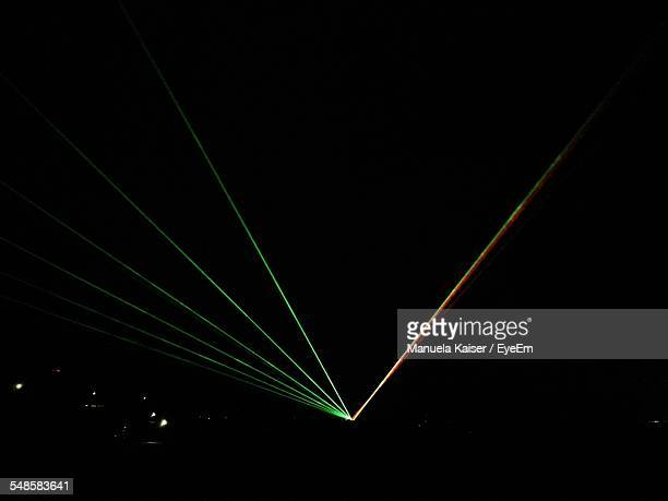 View Of Laser Show