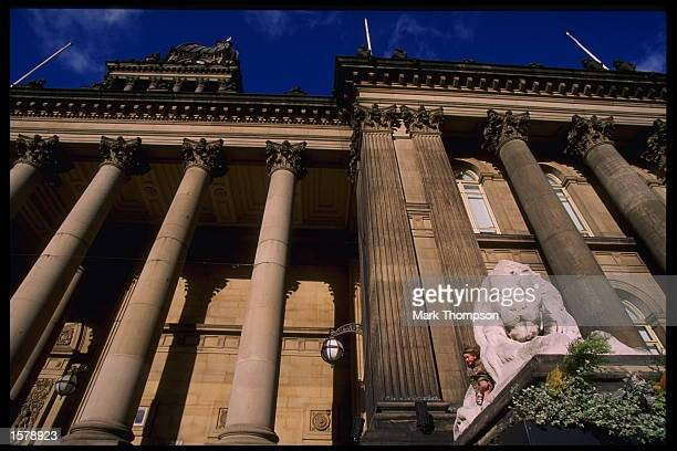 A view of Leeds town hall Leeds is one of the cities chosen to stage the European soccer Championships which will be held in England