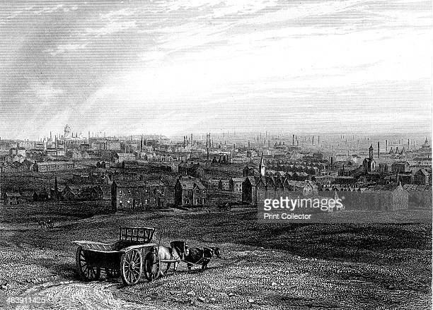 View of Leeds Yorkshire early 19th century The economy of Leeds was based on the wool industry The city's prosperity was greatly increased in the...
