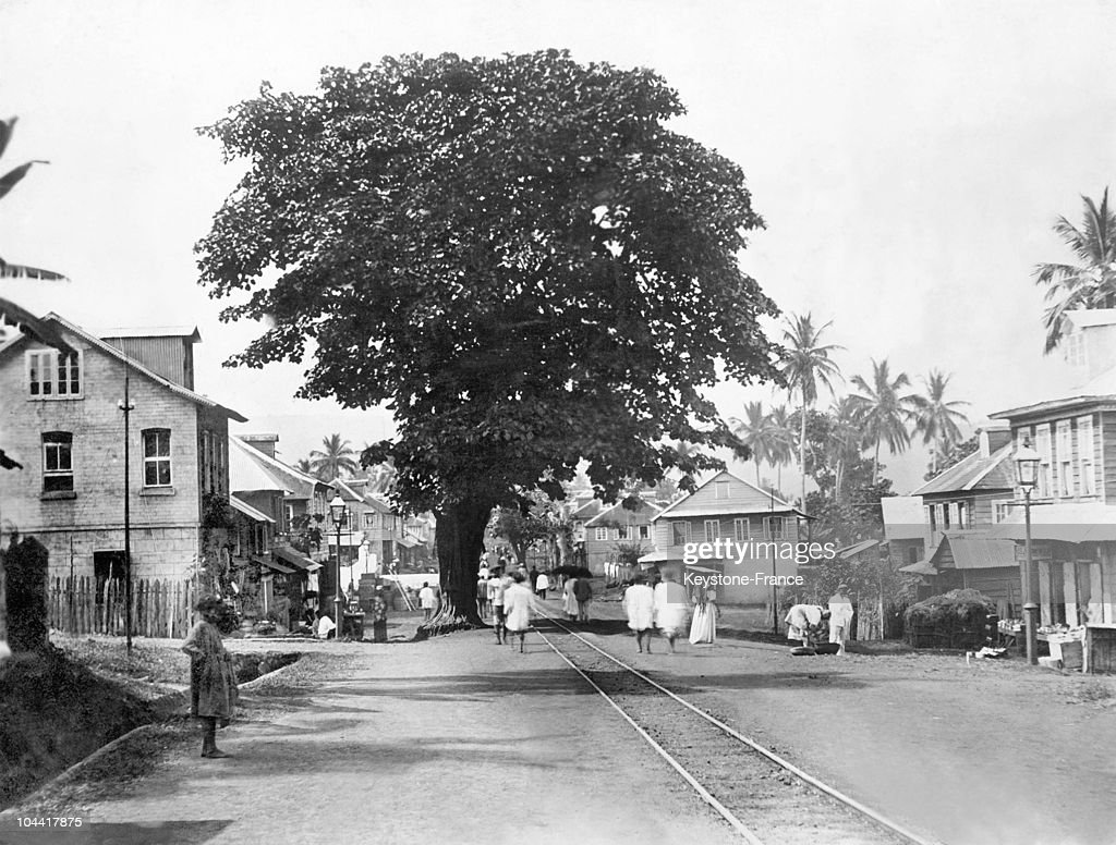 A View Of Monrovia, Liberia'S Capital, Around The 1920-1930'S : Nachrichtenfoto