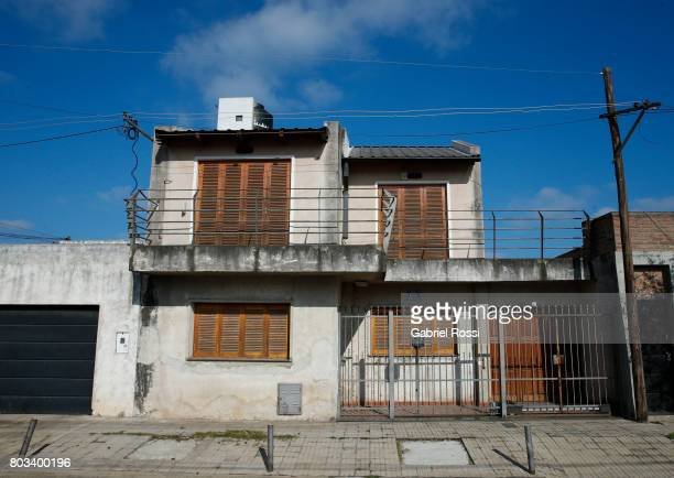 A view of Lionel Messi's childhood house ahead of Lionel Messi and Antonela Rocuzzo's Wedding on June 29 2017 in Rosario Argentina Lionel Messi will...