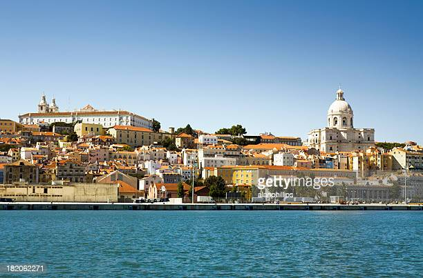 View of Lisbon from the Tagus River
