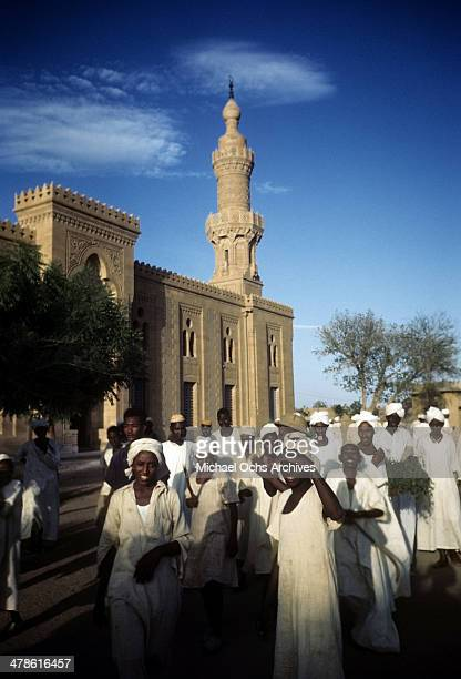 A view of local workers in Khartoum AngloEgyptian Sudan