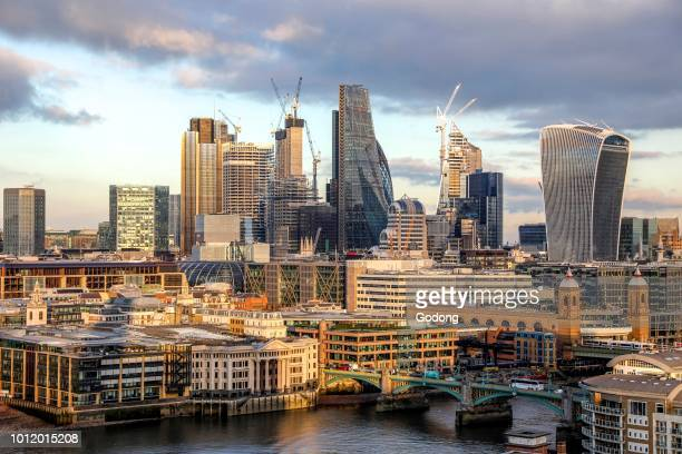 View of London from the Tate Modern UK