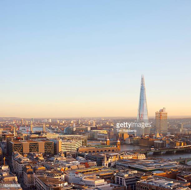 View of London towards The Shard.