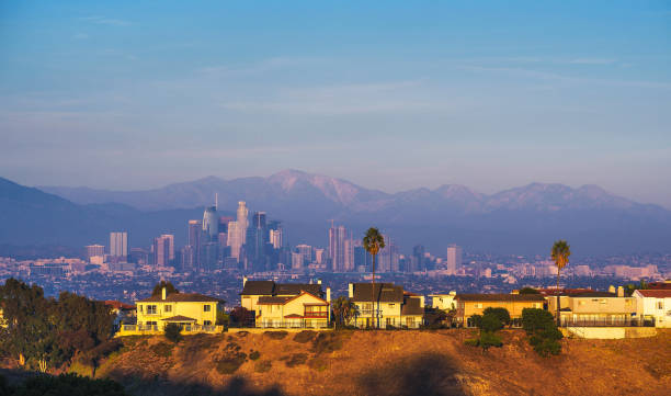 View of Los Angeles, California, USA