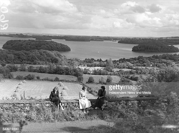 View of Lough Key and Boyle Ballyfarnn Road County Roscommon Ireland August 17 1953