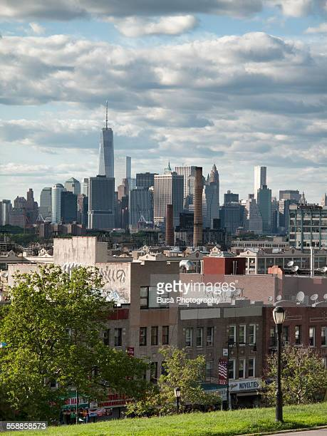 View of Lower Manhattan from Sunset Park, Brooklyn