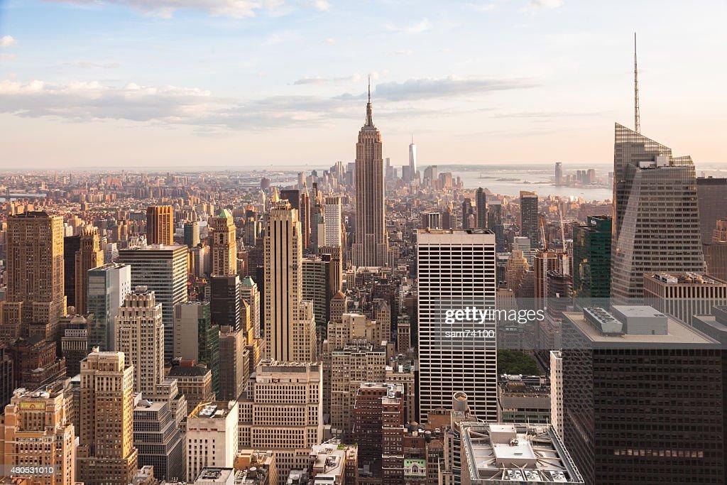 Vue sur le quartier de lower Manhattan, à New York : Photo