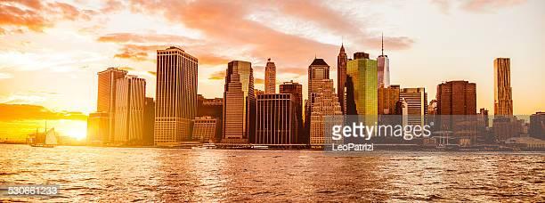 View of Lower Manhattan New York