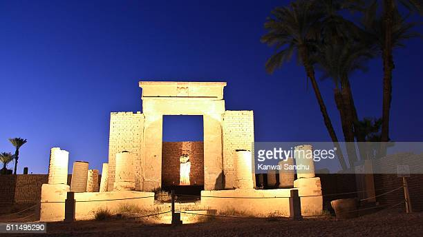 View of Luxor Temple