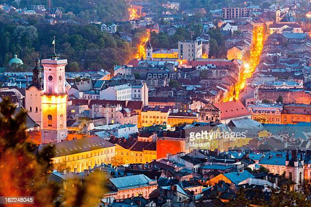 View of Lviv from Castle Hill
