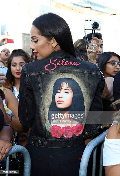 A view of Madame Tussauds Hollywood's unveiling of GRAMMY award winner and cultural icon Selena Quintanilla immortalized in wax at Madame Tussauds on...