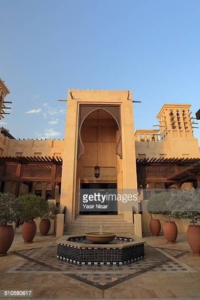 A view of Madinat Jumeirah Hotel Dubai