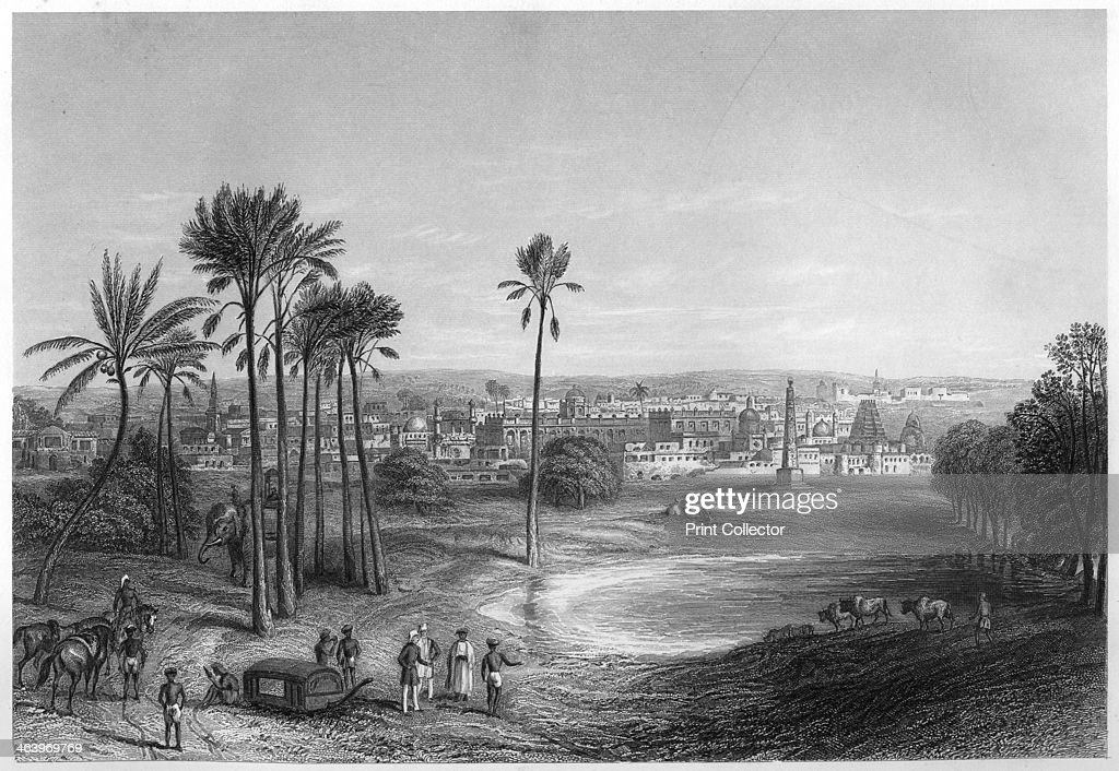View of Madras, India, c1860  The town of Madras, or Chennai