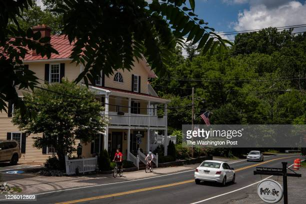 View of Main Street in downtown is seen on Thursday, July 9 in Clifton, VA. Residents of the town, including Ginni Thomas, wife of Supreme Court...