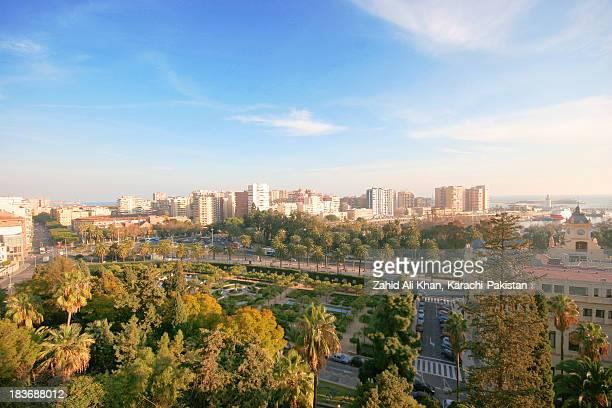 A view of Malaga city