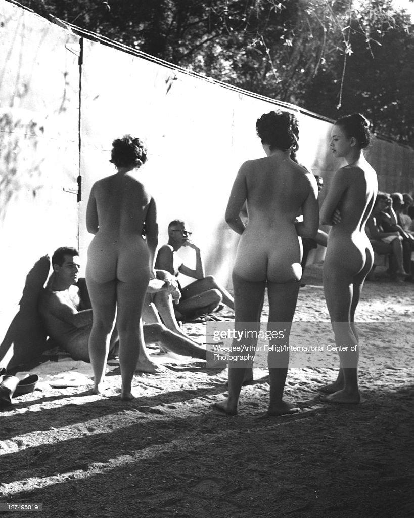 Nudist Camp Photo Shoot