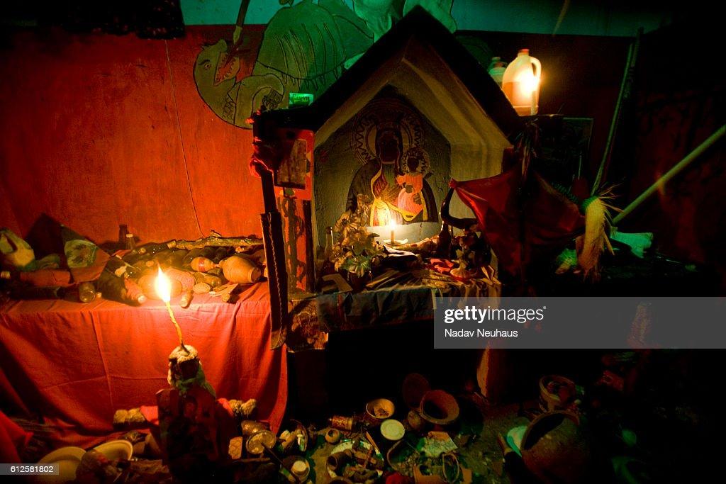 Haiti - Voodoo Versus Christianity : News Photo
