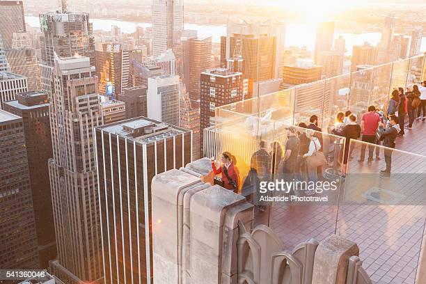 View of Manhattan from Rockefeller Center
