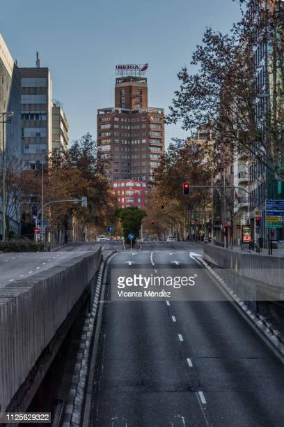 View of María de Molina street (Madrid)