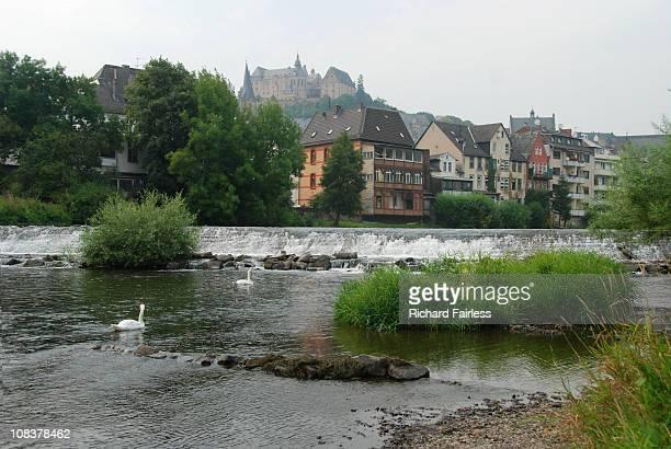 View of Marburg, Germany