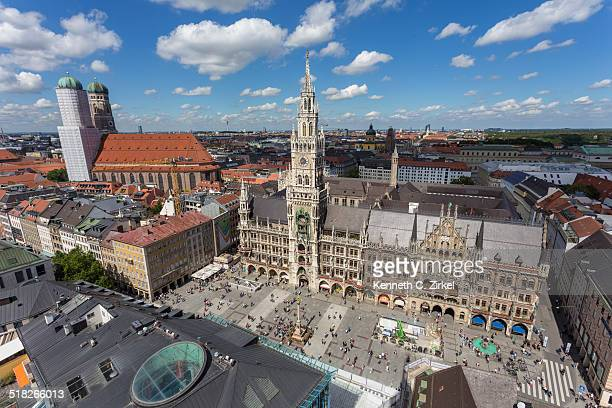 View of Marienplatz, Munich