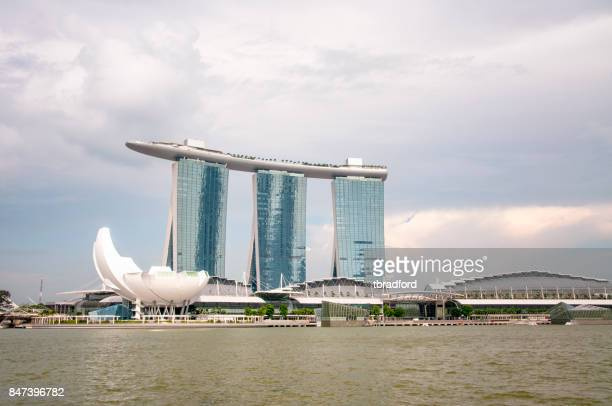 View Of Marina Bay In Singapore