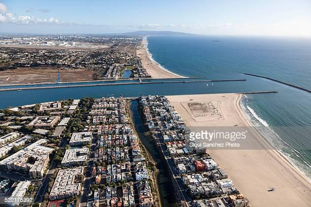 View of Marina del Rey, Los Angeles, California, USA