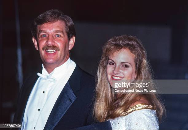 View of married couple, former bodyguard Bernard Lee Shaw and heiress and author Patty Hearst attend a Royal Gala Evening to Benefit the London City...