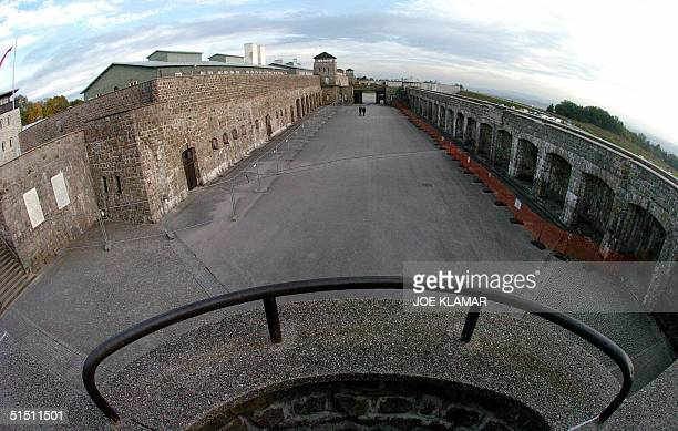 View of Mauthausen's concentration camp built by the Nazis before World War II visited by Israeli President Moshe Katsav and his Austrian counterpart...