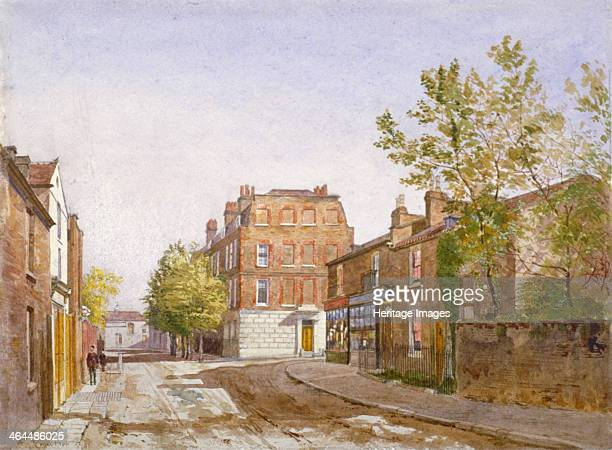 View of Mawson House Chiswick Lane Chiswick London 1882 This was the early residence of Alexander Pope