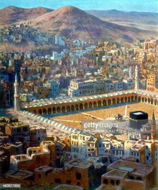 'View of Mecca' illustration for La Vie de Mohammed Prophete d'Allah c1880c1920