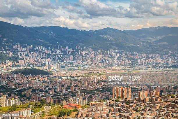 View of Medellin City, Colombia