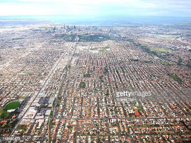 View of Melbourne city
