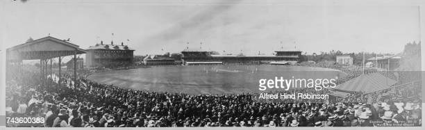 A view of Melbourne Cricket Ground during the 2nd Test between Australia and England Yarra Park Melbourne Victoria Australia 30th December 1911 3rd...