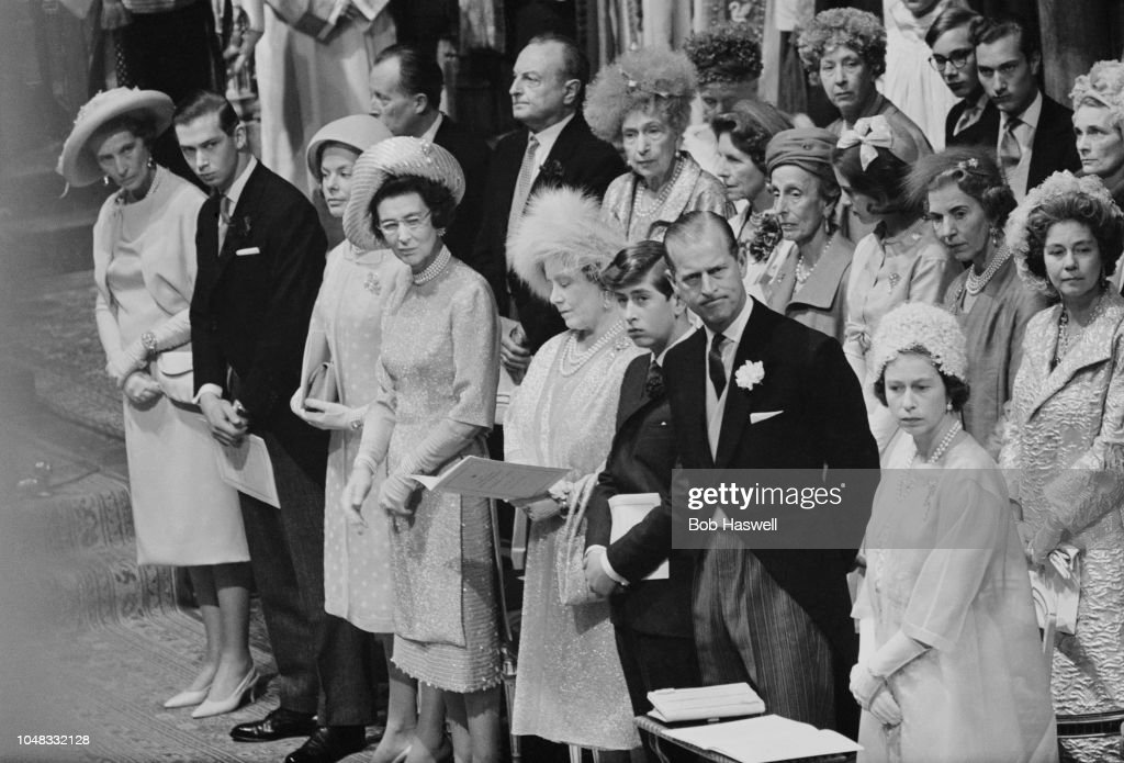 Wedding Of Sir Angus And Lady Ogilvy : News Photo