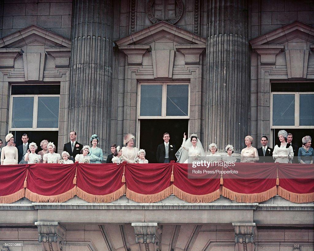 Royal Wedding Balcony Scene : News Photo
