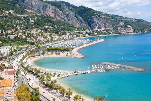 Ansicht von Menton, Côte d ' Azur, Frankreich