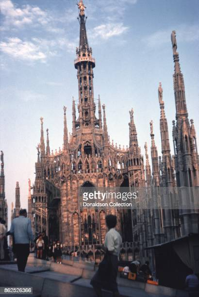 A view of Milan Cathedral on September 12 1963 in Milan Italy
