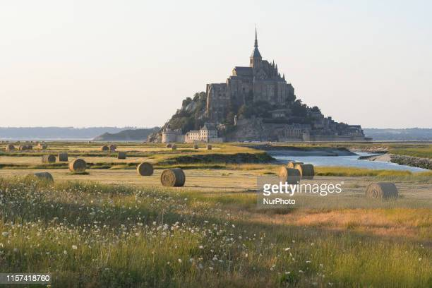 View of Mont Saint-Michel. On Monday, July 22 in Caen, Normandy, France.