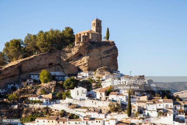 view of montefrio. province of grananda - granada spain landmark stock pictures, royalty-free photos & images