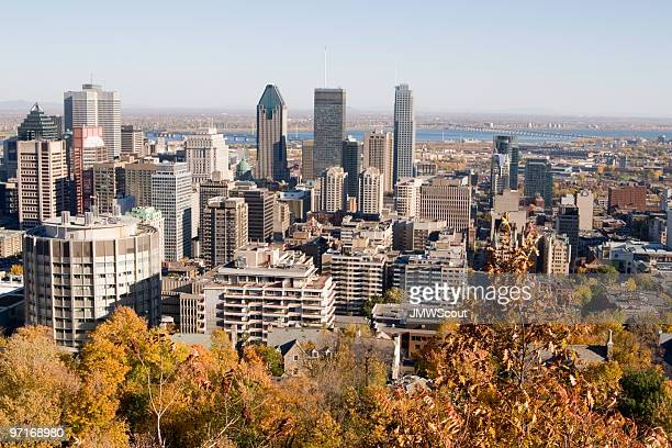 View of Montreal from Mont Royal