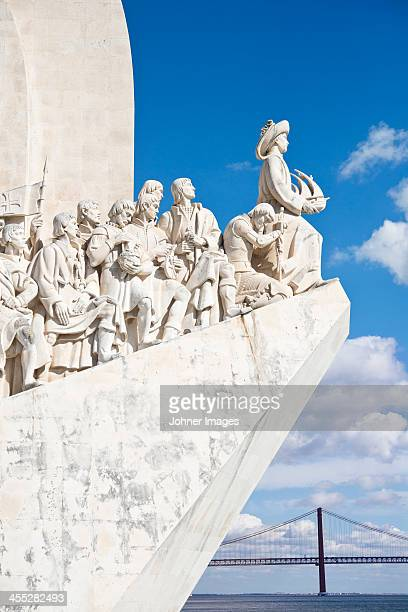 View of Monument to the Discoveries, Lisbon