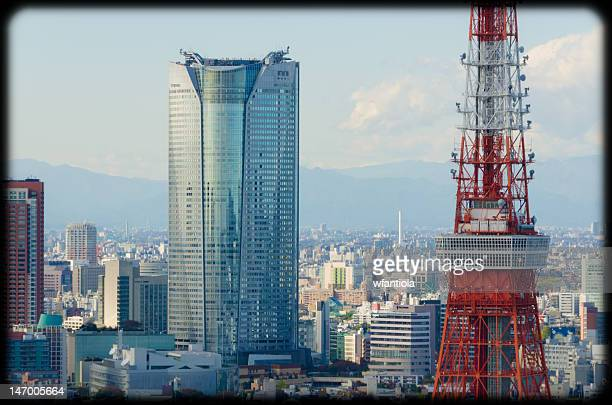 View of Mori Tower