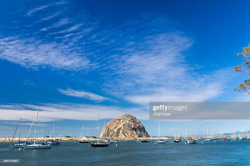 View of Morro Bay, California, USA : Stock Photo