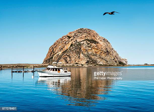 view of morro bay - phil haber stock pictures, royalty-free photos & images