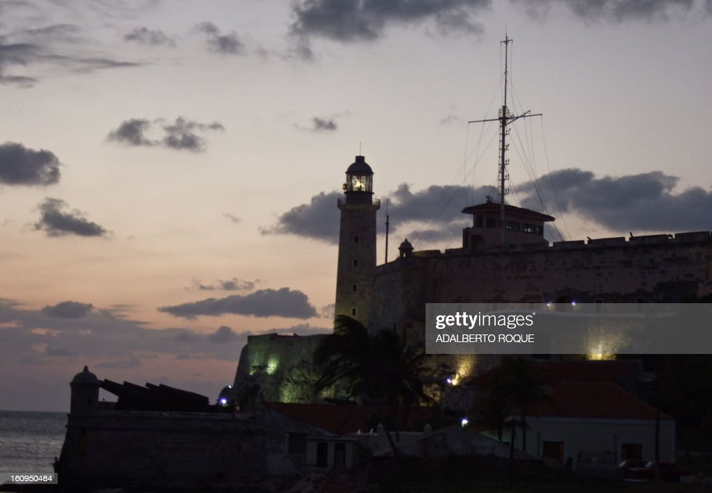 View of Morro Castle fortress in Havana harbor, taken on February 26, 2010.