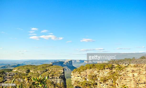 View of Morro Father Ignatius, Chapada Diamantina, Brazil