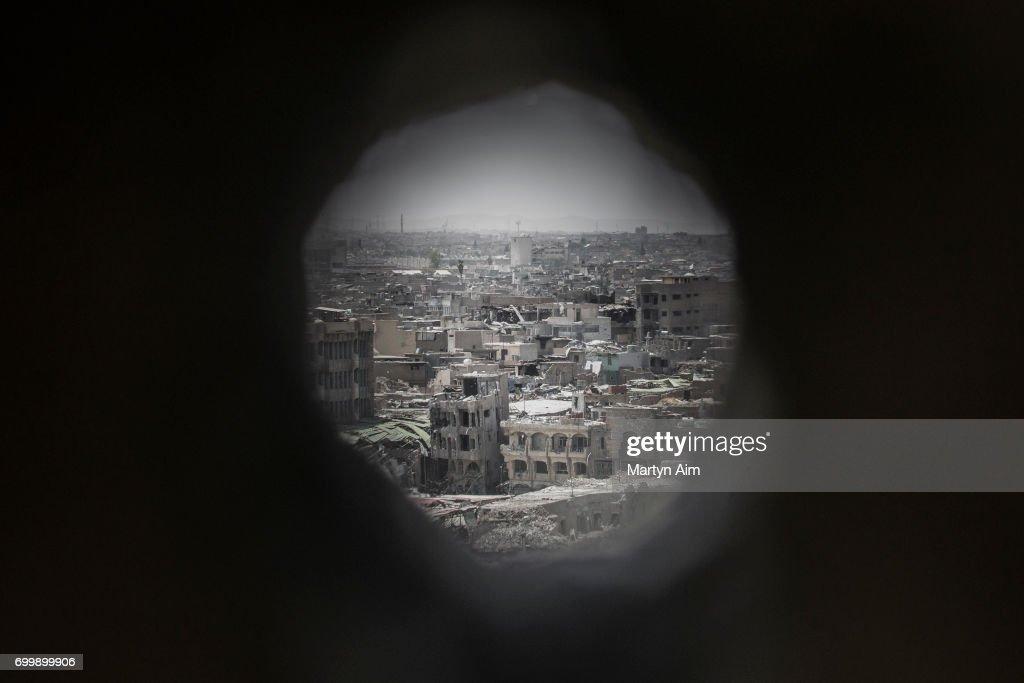 Iraqi forces Advance On ISIS In Mosul : Foto jornalística